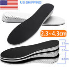 Air Cushion Invisible Height Increase Insoles Shoe Inserts Heel Lifts Pad Taller