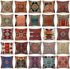 Throw PILLOW COVER Tapestry Kilim Rug Digital Print 2-Sided Cushion Case 18x18