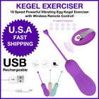 Kegel Exerciser Weight Pelvic Floor Ben Wa Balls Vaginal Bladder Remote Control $19.99 USD on eBay