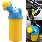 Cute Toddler Children Urinal Car New Trainer Outdoor Frog Travel Toilet Training image