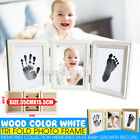 Cute Photo Frame Baby Footprint Foot Or Hand Cast Set DIY Handprint Inkpad