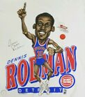 DETROIT PISTONS DENNIS RODMAN NBA CARICATURE CARTOON T SHIRT New Gildan te D500 on eBay