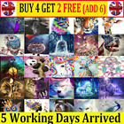 5d Diamond Painting Embroidery Cross Craft Stitch Arts Kit Mural Home Decor Mn