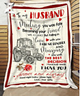 Tractor - To my Husband - Meeting you was fate Fleece Blanket