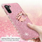 For Huawei P40 P20 P30 Lite Mate 30 20 Pro Y9 Diamond Case Ring Stand Soft Cover