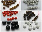 500 Round Wood Beads 12mm Wooden Beads Color for Choice