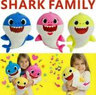 2020 Baby Shark Plush Singing Toys LED&Music Doll English Song Toy For Kids Gift