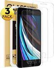 3-Pack iPhone 12 Pro 8 Plus Tempered GLASS Screen Protector Bubble Free 11 X XS