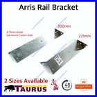 Arris Rail Bracket 225mm or 300mm Galvanised Fence Post Support GENUINE TIMco