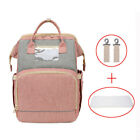 Multifunctional Diaper Bag & Baby Crib Backpack Nappy Mummy Bags for Mom Dad