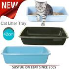 Whitefurze Large 42cm Cat Kitten Puppy Pet Plastic Litter Tray│Pet Care Utility
