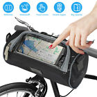 Cycling Bags Bicycle Bike Handlebar Bag Front Tube Pannier Rack Basket Outdoor