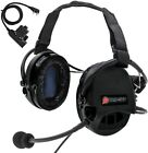 TAC-SKY Tactical Liberator II silicone noise reduction shooting headset