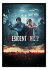 Resident Evil 2 City Framed Cork Pin Notice Board With Pins