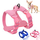 Dog Harness For Small Dogs Chihuahua Adjustable Soft Leather Puppy Harness Vest