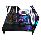 MATX ATX PC Open Frame Test Bench Water Cooling Fan Air Case Graphics Card