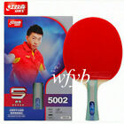 DHS 5 Star R5002/R5006 Table Tennis Racket Ping Pong Paddle W/5 ply wooden Blade