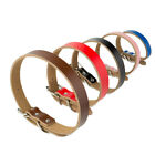 Genuine Real Leather Dog Collar  by Pets Ark
