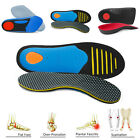 Orthotic Shoe Insole High Arch Support Inserts for Plantar Fasciitis Feet Relief