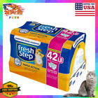 Fresh Step Triple Action Scented Clumping Clay Cat Litter 99.9 Dust-Free Odor