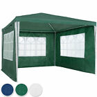 Gazebo for Garden Party Camping Festivals Beer Tent+removable sides 3 x 3m new
