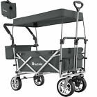Collapsible Handcart Removable Roof Wheelbarrow Outdoor Camping Carry Bag New