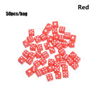 Sided Acrylic Gaming Drinking Dice Entertainment Tool Dices Board Playing Game