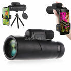 10x42 Monocular Telescope Watch Hunting Hiking Prism Film Optics Tripod Capable