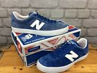 NEW BALANCE MENS ML22 BLUE SUEDE TRAINERS VARIOUS SIZES CASUAL