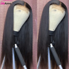 30 Inch Straight Lace Front Wig 5x5 Closure Wig Brazilian Remy Hair 13x4 Lace Fr