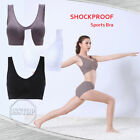 Sports Bra Seamless Bra Padded High Impact Top Active Wear Workout Yoga Exercise