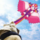 Kites,Unicorn Kite for Kids Easy to Fly & Carry & Assembly Outdoor Beach Park