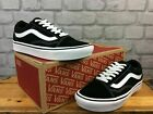 VANS LADIES OLD SKOOL COMFYCUSH BLACK WHITE TRAINERS VARIOUS SIZES T