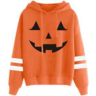 Thanksgiving Pumpkin Fall Halloween Hoodies Sweatshirts Pullover Tops for Women