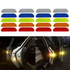 Rear Universal Auto Tail Warning Mark Car Door Stickers Safety Reflective Tape