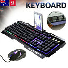 Backlight Gaming Keyboard And Mouse Set Computer Pc Usb Wired Keyboard+mice Kit