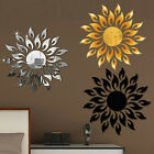3d Mirror Sun Decal Art Wall Sticker Self-adhesive Acrylic Home Bedroom Decor