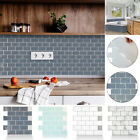 3d Kitchen Wall Tile Stickers Bathroom Mosaic Sticker Self-adhesive Home Decor