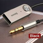 Baseus Aux Bluetooth Adapter Dongle Cable For Car 3.5mm Jack Aux Bluetooth 5.0