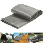 5 Mil Poly Tarp Cover Waterproof UV Resistant with Grommets & Reinforced Edges