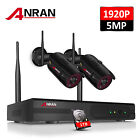 ANRAN HD 5MP NVR Outdoor Security 1920P Wireless WIFI Camera System Night Vision