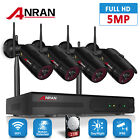5MP WIFI HD Security Camera System Outdoor Wireless CCTV 1920P IP Camera Kit P2P