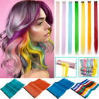 10PCS Colored Clip in Hair Extensions 20
