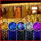 Led String Lights Outdoor Garden Xmas Luminary Garland Decoration Curtain Icicle