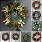 Large Christmas Wreath Door Wall Hanging Ornaments Garland Xmas Decor