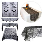 Cobweb Runner Tablecloth Fireplace Mantle Scarf Cover Halloween Horror Props
