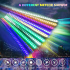 LED Meteor Shower Lights Waterproof Falling Rain Icicle Outdoor XMAS 30/50 CM