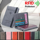 Holder Ultra-thin Passport Bag Travel Cover Case Passport Holder RFID Wallet
