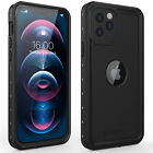 For Apple iPhone 12 Case Waterproof Shockproof with Screen Protector 12 Pro Max