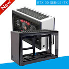 GEEEK A50S Mini ITX Computer Case PC Aluminum Acrylic Side Panels Cooling Case